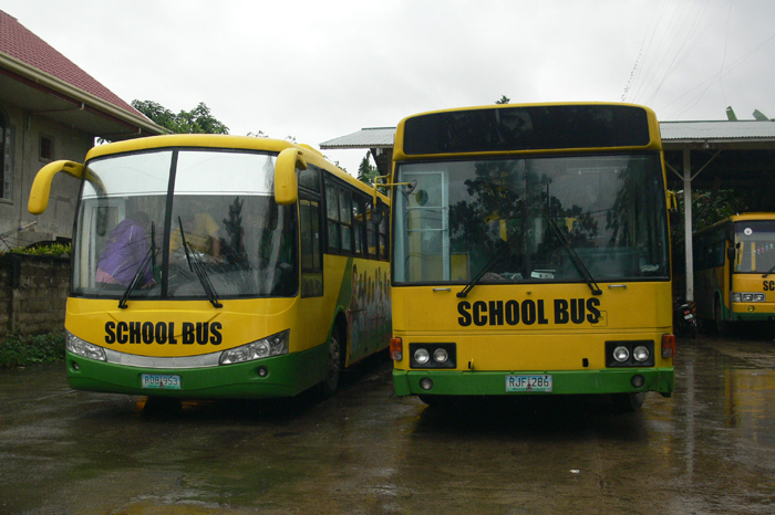 Mayor Espina calls for turnover of school buses