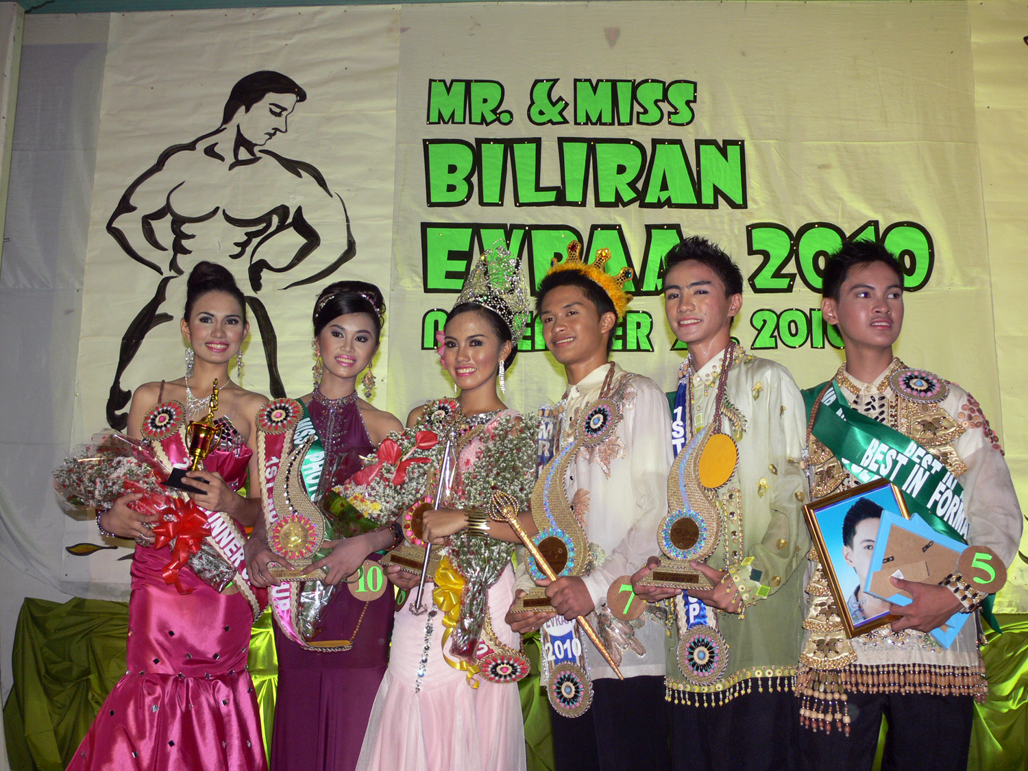 NSU candidates romp Mr., Miss Biliran EVRAA 2010 search
