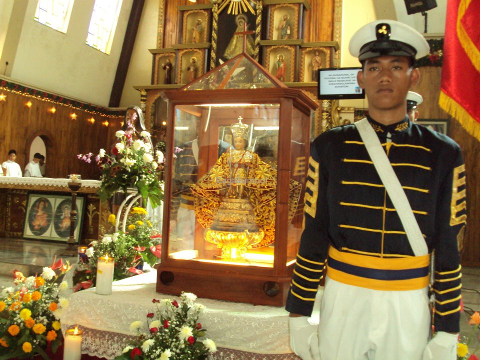 Santo Niño de Cebu kicks off tour with visit to Naval