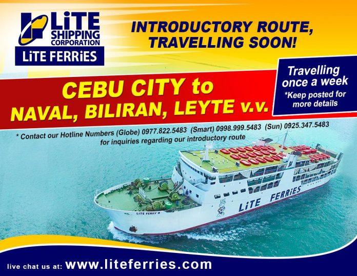 Lite Shipping, Cebu To Naval, Biliran