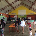 Evacuees due to bad weather in Biliran now back home