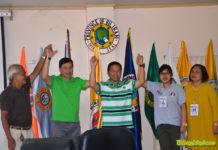 Congressman Rogelio Espina and Governor Gerryboy Espina.