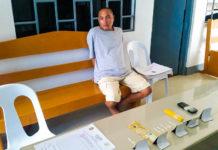 Alleged drug pusher Keesar Paul Opena