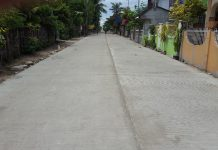Construction/Improvement of Access Roads Leading to Declared Tourist Destinations along Higatangan Circumferential Road, Higatangan Island, Naval, Biliran. As of September 30, 2016, It has accomplishment of 90 % under Chu Construction with an appropriation of P45M.