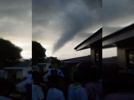 Tornado in Capinahan Naval. Photo by Photo by Myrna Delda