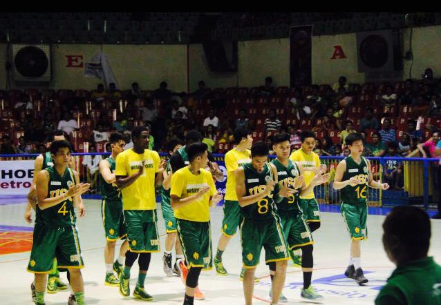 USC Warriors CESAFI 2014 . Photo from Christian Senn Laude's Facebook page