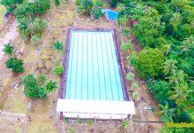 Olympic-size swimming pool. Photo from Atty. Raymundo Espina