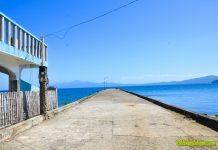 Cabucgayan Port in Magbangon, Cabucgyan, Biliran Province.