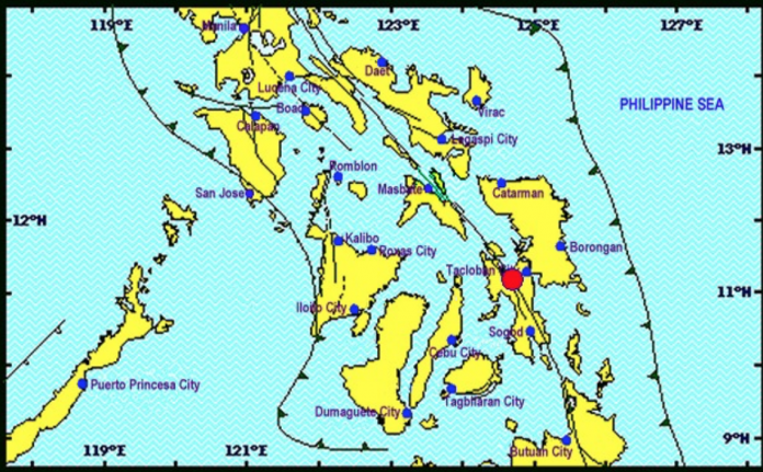 Earthquake - 2km ENE of Canhandugan, Philippines - Magnitude 6.9 - @USGS