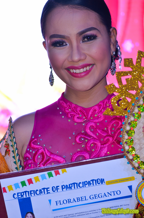2nd Runner -up Candidate No. 7 Ms. Florabel Higanto