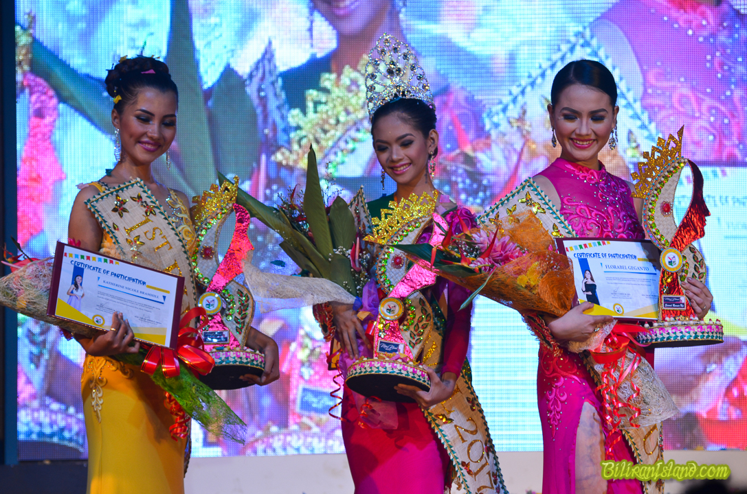 MISS NAVAL 2017 Winners. 1st Runner Up, Candidate No. 3 Nicole Bramhill, Miss Naval Candidate No. 2, Ms. Desiree Salonoy and 2nd Runner-up Candidate No. 7 Ms. Florabel Geganto